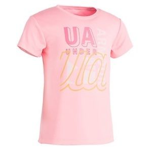 NWT Under Armour Pop Pink Collage Shirt